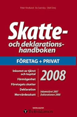 Skatte- och deklarationshandboken 2008