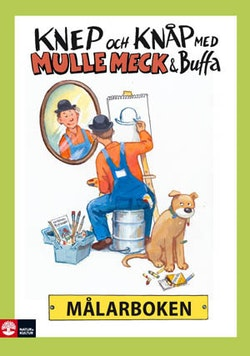 Knep & knåp med Mulle Meck & Buffa - målarbok