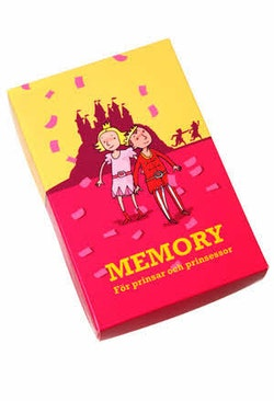 Memory för prinsar och prinsessor