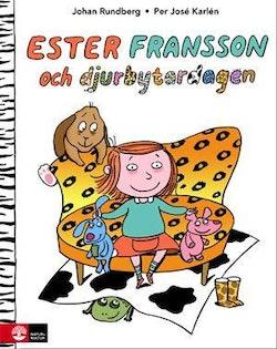 Ester Fransson och djurbytardagen