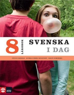 Svenska i dag 8 Lärobok