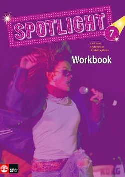 Spotlight 7 workbook