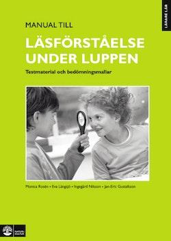 Lärare Lär/Läsförståelse under luppen, Manual