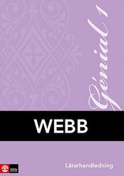 Genial 1 Lärarhandledning Webb, andra upplagan