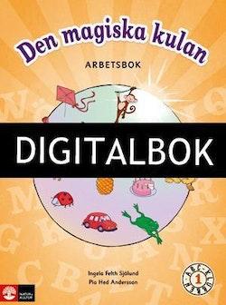 ABC-klubben åk 1 Den magiska kulan Arbetsbok Digitalbok IST