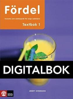 Fördel SVA för nyanlända åk 7-9 Textbok 1 Digital