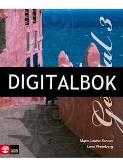 Génial 3 (Andra upplagan) Allt-i-ett-bok Digitalbok ljud
