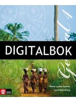 Génial 4 (Andra upplagan) Allt-i-ett-bok Digitalbok ljud