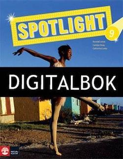 Spotlight 7-9 Textbook 9 Digitalbok ljud