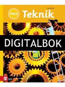 PULS Teknik 4-6 Tredje upplagan Grundbok Digitalbok ljud