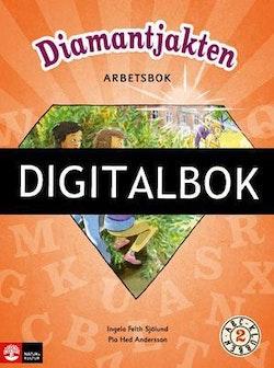 ABC-klubben åk 2 Arbetsbok Digitalbok ljud Diamantjakten
