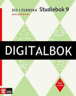 ESS i svenska 9 Studiebok 9 med facit (4:e upplagan) Digitalbok ljud