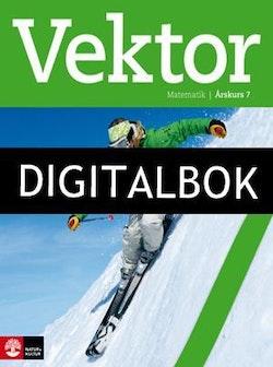 Vektor Elevbok åk 7 Digital (12mån)