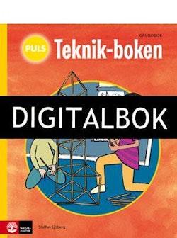 PULS Teknik-boken 1-3, Grundbok Digitalbok ljud