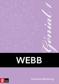 Génial 1 Lärarhandledning Webb, andra upplagan