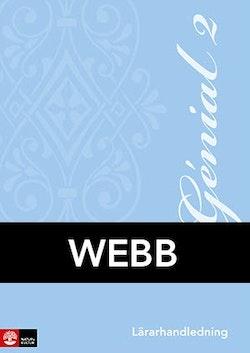 Génial 2 Lärarhandledning Webb, andra upplagan