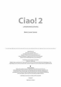 Ciao 2 Lärarhandledning Webb