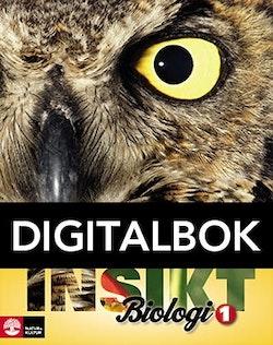 Insikt Biologi 1 Lärobok Digitalbok