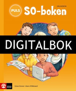 PULS SO-boken 1-3 Grundbok Digitalbok ljud