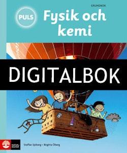 PULS Fysik och kemi 4-6 Tredje upplagan Grundbok Digitalbok ljud