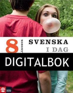 Svenska i dag 8 Lärobok Digital