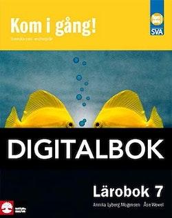 Kom i gång! 7 Lärobok Digitalbok