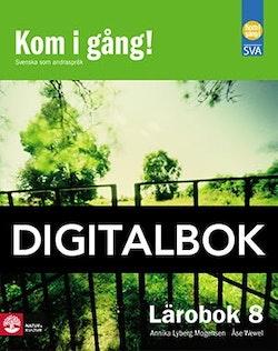 Kom i gång! 8 Lärobok Digitalbok