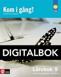 Kom i gång! 9 Lärobok Digitalbok