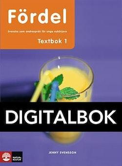 Fördel SVA för nyanlända åk 7-9 Textbok 1 Digitalbok