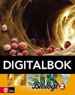 Insikt Biologi 2 Lärobok Digitalbok