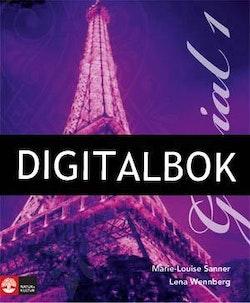 Génial 1 (2:a uppl) Allt-i-ett-bok Digitalbok ljud