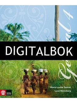 Génial 4 (2:a uppl) Allt-i-ett-bok Digitalbok ljud