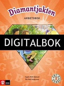 ABC-klubben åk 2 Diamantjakten, Arbetsbok Digitalbok ljud