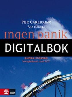 Ingen panik, 2:a utgåvan Digitalbok