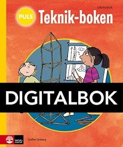 PULS Teknik-boken 1-3 Grundbok Digital, tredje upplagan