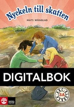 ABC-klubben åk 3 Nyckeln till skatten Läsebok A Digital