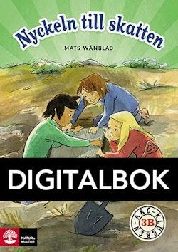 ABC-klubben åk 3 Nyckeln till skatten Läsebok B Digital