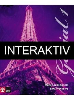 Génial 1 (2:a uppl) Allt-i-ett-bok Interaktiv Plus