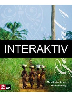 Génial 4 (2:a uppl) Allt-i-ett-bok Interaktiv Plus