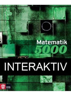 Matematik 5000 Kurs 1b Grön Lärobok Interaktiv