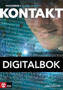 Kontakt Huvudbok 1 Digital