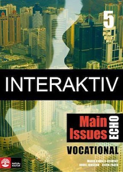 Echo 5 Main Issues Vocational Elevbok Interaktiv Plus (6 mån)