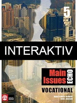 Echo 5 Main Issues Vocational Elevbok Interaktiv Plus