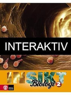 Insikt Biologi Kurs 2 Lärobok Interaktiv Bas