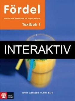 Fördel SVA för unga nybörjare 1 Textbok Interaktiv Bas
