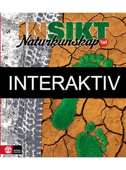 Insikt Naturkunskap Kurs 1a:1 Lärobok Interaktiv Bas