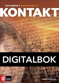Kontakt Huvudbok 2 Digital