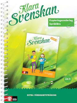 Klara svenskan åk 5 Kopieringsunderlag Språklära