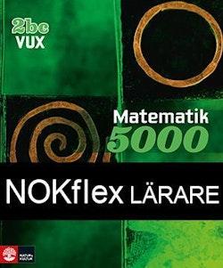 NOKflex Matematik 5000 Kurs 2bc Vux, Lärare