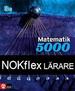 NOKflex Matematik 5000 Kurs 3c Blå, Lärare